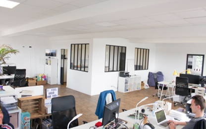 Open Space  5  postes Coworking Lille 59800