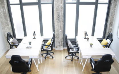 Open Space  3  postes Coworking Lyon 69006
