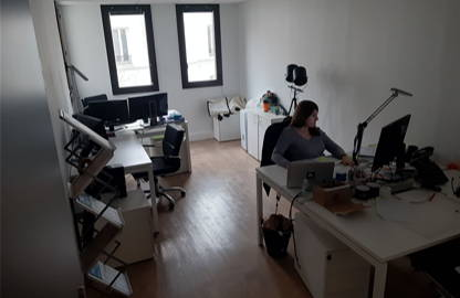 2 200 € par mois, 6 postes , Paris, Location bureau privatif 6 postes