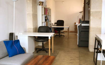 Open Space  2  postes Location bureau Paris 75018