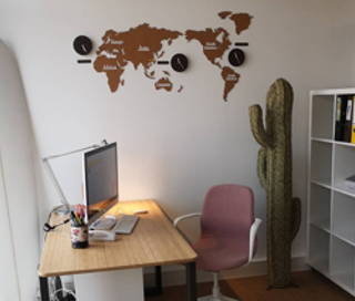 Open Space  2 postes Coworking Avenue de Branne Tresses 33370