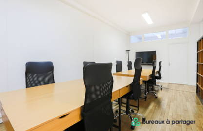 325 € par mois, 12 postes , Paris, Poste en Open Space - Quartier Bourse