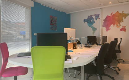Open Space  10  postes Location bureau Cavaillon 84300