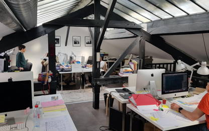 Open Space  2  postes Location bureau Levallois-Perret 92300
