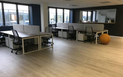 Open Space  12  postes Location bureau Vanves 92170