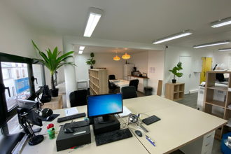 300 € par mois, 6 postes , Paris, Bureau open space+roof top proche Charonne