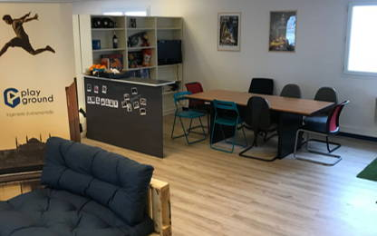 Open Space  4  postes Location bureau Paris 75013
