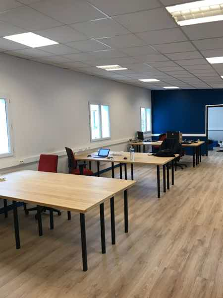 Postes co-working / open-space lumineux !-1