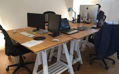 Open Space  2  postes Location bureau Vannes 56000
