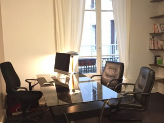 50 € par jour, 1 poste , Paris, Bureau -Paris Porte de Saint Cloud