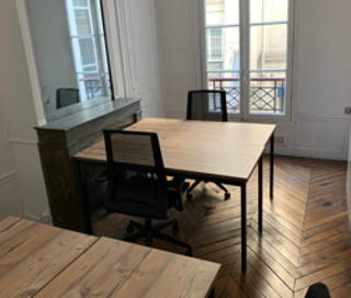 Open Space  2 postes Location bureau Rue de Provence Paris 75009