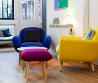 Open Space  2 postes Coworking Rue Arthur Rozier Paris 75019