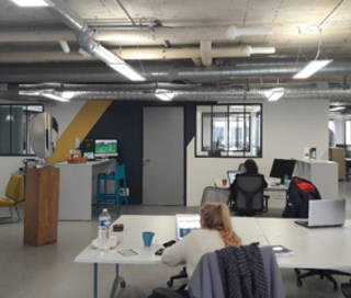 Open Space  20 postes Coworking Rue Saint Denis Paris 75002