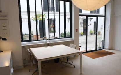 Open Space  1  poste Location bureau Paris 75011