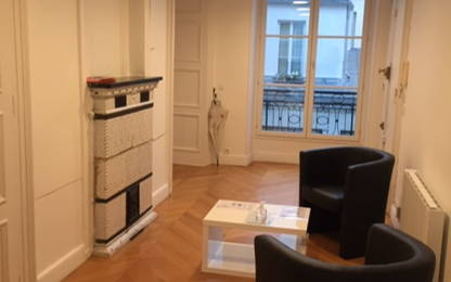 Open Space  7  postes Location bureau Paris 75002