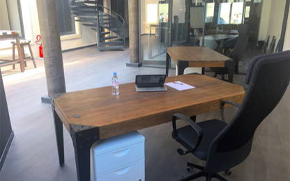 Open Space  9  postes Coworking Nancy 54000