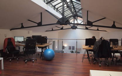 Open Space  4  postes Location bureau Lyon 69002