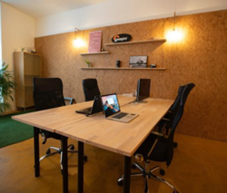 Open Space  2 postes Location bureau Rue Velten Lyon 69009