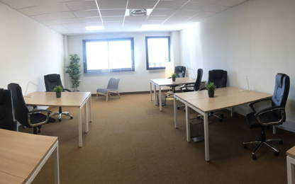 Open Space  12  postes Location bureau Montpellier 34070