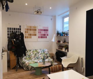 Open Space  2 postes Coworking Rue Etienne Dolet Paris 75020