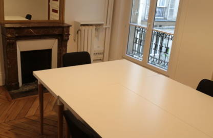 1 550 € par mois, 5 postes , Paris, Bureau 5 pers / salle de bain privative !