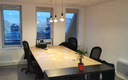 Open Space  4  postes Location bureau Pantin 93500
